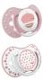 Lovi dudlíky Retro Baby, 3 - 6m, růžové