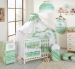 Moskytiéra lux - Veselé proužky zelené