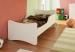 Dětská postel Paula bílá 180x80