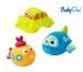 Baby Ono Veselé hračky do vody DOPRAVNÍ PROSTŘEDKY - 3m+
