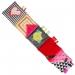 Malá textilní knížka MINI - růžová