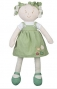 Látková panenka EKO Lily Baby Ono - zelená/khaki
