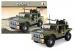 Stavebnice AUSINI armáda jeep velký, 299 dílů