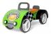 Odrážedlo Milly Mally Junior AUTO - zelené