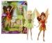 Panenka Disney Fairies - Víly, 2v1 Zvonilka a Fauna, 22 cm
