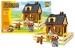 Stavebnice AUSINI farma domek, 214 dílů