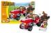 Stavebnice AUSINI farma traktor velký, 215 dílů