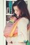 Little FROG Tkaný šátek na nošení dětí - Sunny Agate II