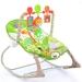 Lehátko,houpačka pro kojence s vibrací a hudbou - Žirafa