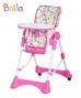 Jídelní stoleček BAILA - candy pink