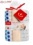 Dětské látkové tetra pleny LUX BOBO BABY - Hvězdičky/béžová