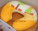 Náhradní potah kojícího polštáře - Šnek pomeranč