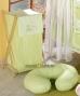 Náhradní potah kojícího polštáře - Kostička zelená