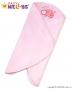 Zavinovací deka do autosedačky Baby Nellys ® Beruška - růžová