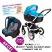 Kočárek LATINA Coto Baby 3v1 + dárkový kupon 500kč - blue