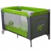 Cestovní postýlka SAMBA Coto Baby - šedá/zelená