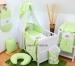 Luxusní mega set s výšivkou Š - Oslík zelená louka