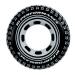 Nafukovací kruh pneumatika, 91 cm