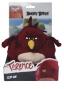 Angry Birds plyšová hračka Terence s přívěškem, 14 cm