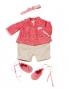 BABY ANNABELL oblečení - dupačky+kabátek