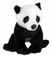 Plyšová panda sedící, 20 cm