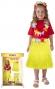 Sukně Hawaii dětská 45 cm, žlutá