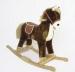Houpací koník BABY MIX - hnědý
