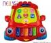 Edukační hrající hračka Autíčko - červené