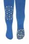 Dětské punčocháče CANDY ABS na kolínkách i šlapkách - jeans/hvězdičky
