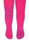 Dětské punčocháče CANDY ABS na kolínkách i šlapkách - malinové/tlapky