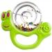 Chrastítko Šnek Canpol Babies - zelený