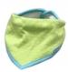 Dětský šátek na krk NICOL KVĚTINKA - zelená puntík