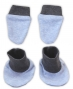 Sada - rukavičky s botičkami NICOL AUTO - melír sv. modrá