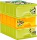 Boxy na hračky - šuplíky Funny Farm - zelené
