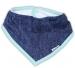 Dětský šátek na krk NICOL ŽIRAFKA - jeansová