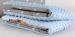MINKY Baby Luxusní deka 75x100cm - Hvězdičky v šedé/sv.modré