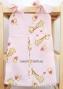 Kapsář na papírové plenky - Žirafky růžové