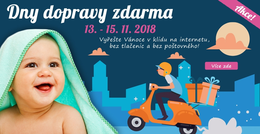 Přeprava zdarma s Heurekou V Mamitati.cz