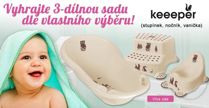 Nakup a vyhraj Sadu Keeeper dle svého výběru