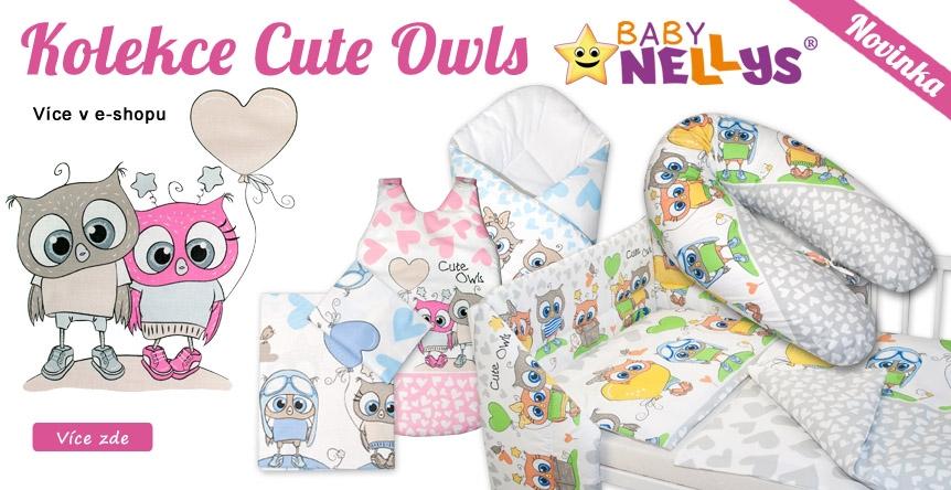 Kouzelná kolekce Cute Owls již v prodeji