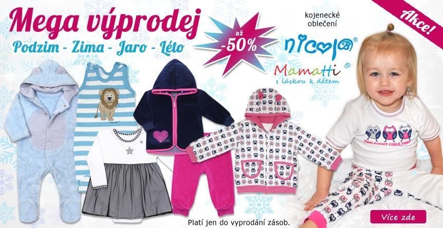 Uklízíme sklady s dětským oblečením NICOL a Mamatti