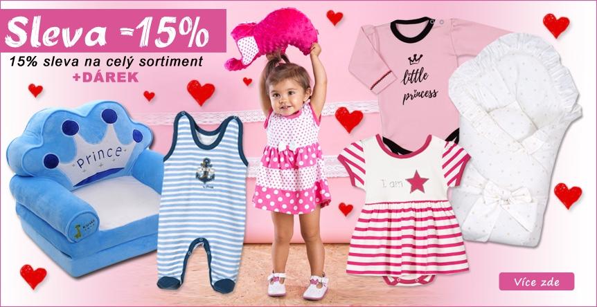 Valentýnská sleva 15% na vše + dárek zdarma
