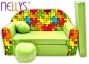Rozkládací dětská pohovka Nellys ® 76R